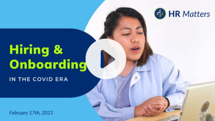 Dominion Payroll's HR Matters: Hiring & Onboarding During COVID