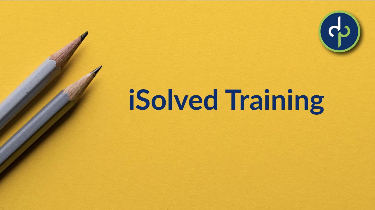 iSolved Training